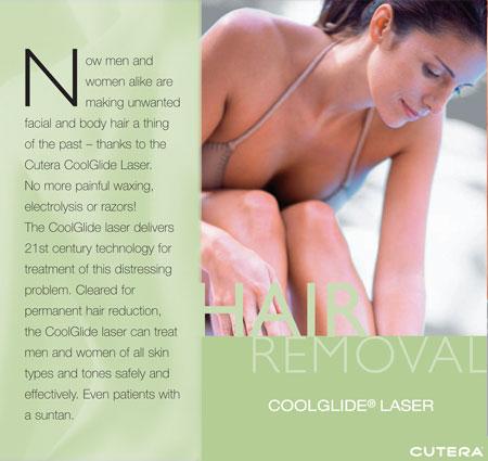 Laser Hair Removal Miami Beach, Cutera CoolGlide® Laser Hair Removal